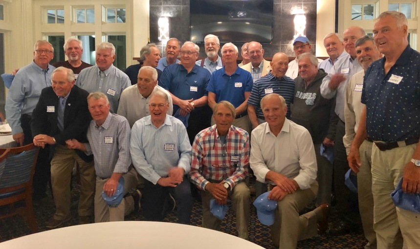 Some of the guys who were recruited in 1965 to play football at UNC